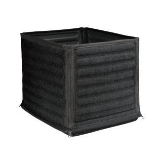 【3D】Cube折疊置物箱 (黑)