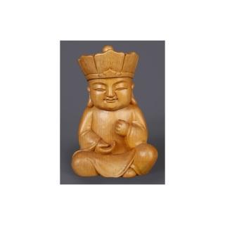 【荒木雕塑藝品】願心童地藏(童子系列)  MU LIFE 荒木雕塑藝品