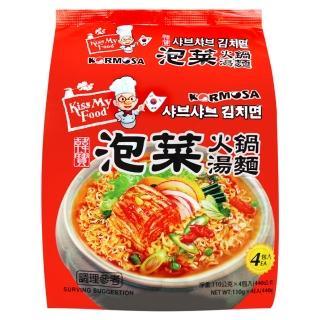 【Paldo】泡菜火鍋湯麵(440g)