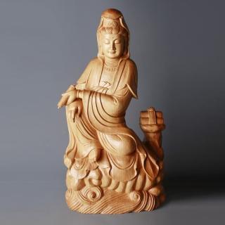 【荒木雕塑藝品】慈悲觀音(1.6尺)  MU LIFE 荒木雕塑藝品