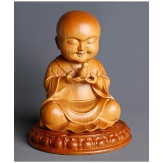 【MU LIFE 雕刻藝品】幸福童子(高8寸 童子系列 )   MU LIFE 荒木雕塑藝品