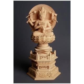 【MU LIFE 雕刻藝品】愛染明王白毫2.5寸(A款)   MU LIFE 荒木雕塑藝品