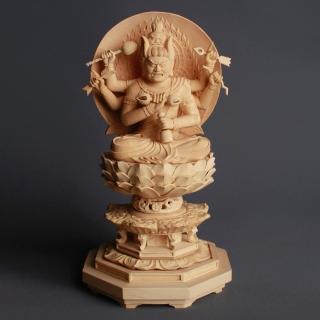 【MU LIFE 雕刻藝品】愛染明王白毫2.5寸(B款)  MU LIFE 荒木雕塑藝品