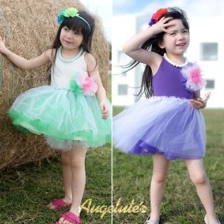 【baby童衣】蓬蓬紗吊帶洋裙 32034(共二色)