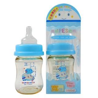 新幹線  PES寬口徑奶瓶140ml
