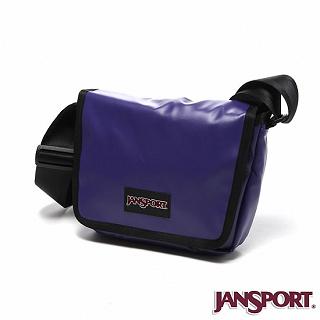【Jansport】4L 限量款小郵差包(靛藍)