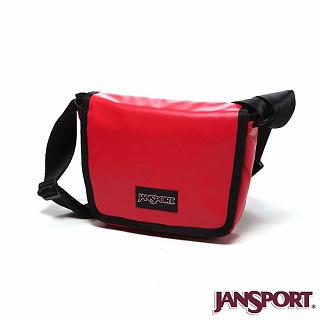 【Jansport】4L 限量款小郵差包(紅色)