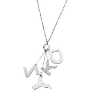 【DKNY】嘻哈寶典項鍊(銀)