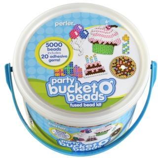 【Perler 拼拼豆豆】甜蜜派對 5000 顆拼豆組合桶