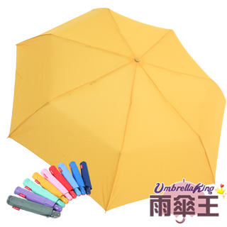 【雨傘王-終身免費維修】BigRed冰棒傘☆防潑水自動開收三折傘(9色可選)