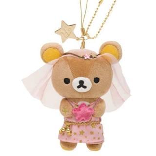 【 San-X 】懶熊12星座毛絨公仔吊飾店舖限定版。處女座