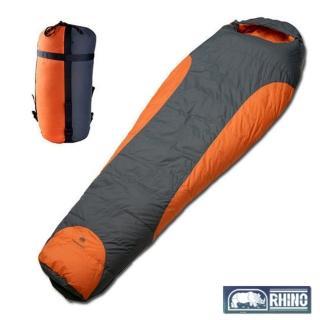 【RHINO 犀牛】TrekLite1400高山耐寒羽絨睡袋(送 EVA單人鋁箔軟墊)