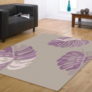 【范登伯格】花草集★森夏椰林絲質地毯(140x200cm)