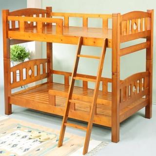 《BuyJM》歐貝3.5呎實木雙層床