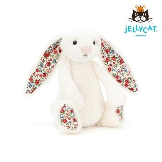 【英國 JELLYCAT】經典31公分碎花兔子(碎花白)