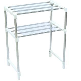 不鏽鋼多功能萬用伸縮置物架