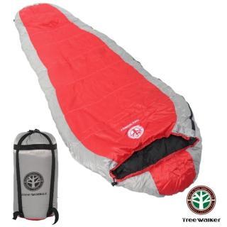 【TreeWalker】高級耐寒羽絨睡袋(送 單人鋁箔軟墊)
