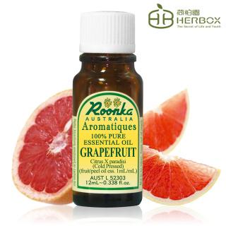 【Roonka 荷柏園】葡萄柚精油 12ml(Grapefruit)