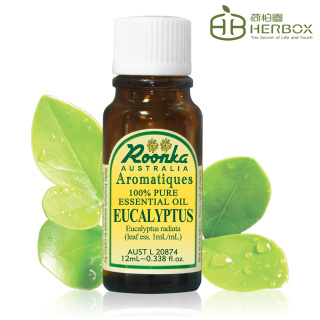 【Roonka 荷柏園】尤加利精油 12ml(Eucalyptus)