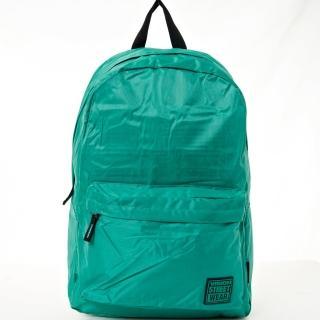 【VISION STREET WEAR】潮牌時尚多色運動休閒雙肩後背包(綠   VB2031G)