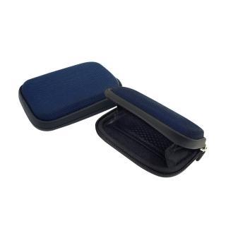 【公路跑者】專利自行車龍頭手機mp3雙掛袋(藍)