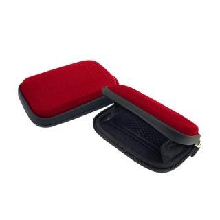 【公路跑者】專利自行車龍頭手機mp3雙掛袋(紅)