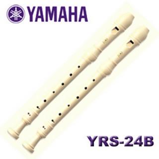 【YAMAHA山葉】高音直笛兩支裝 音樂聯盟(YRS-24B)