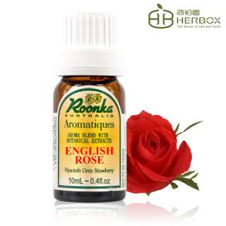 【Roonka 荷柏園】英國玫瑰複方精華 10ml(English Rose)