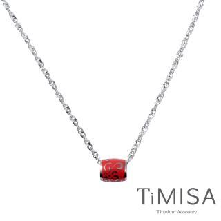 【TiMISA】水漾 純鈦項鍊(六色可選)