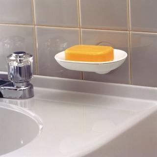 【日本LEC】兩用式吸盤皂盤