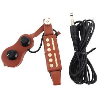 【集樂城樂器】JYC PU-34拾音器2段音量控制熱賣中!!(紅色)
