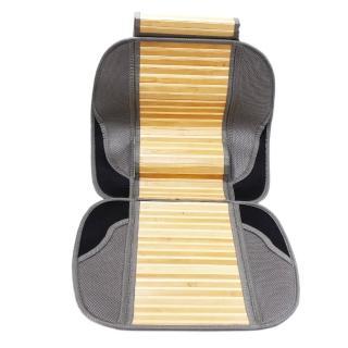 汽車長竹片腰靠L型坐墊--前座