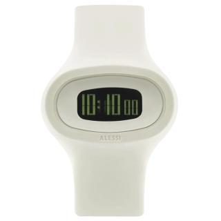 【ALESSI】清晰潮流電子腕錶-白(AEAL25003)