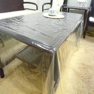 【巴芙洛】透明0.2PVC防水桌巾130cm*180cm6尺
