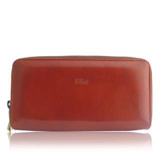 【Sika】義大利時尚獸皮紋長夾(A8243-01)