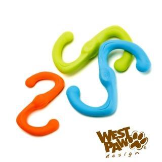 【美國West Paw Design】耐咬玩具S型10吋(4色)