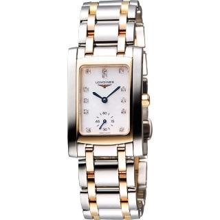 【LONGINES】DolceVita 18K真鑽獨立小秒針腕錶(L55025887)