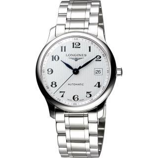【LONGINES】Master 巨擘系列機械腕錶-36mm(L25184786)