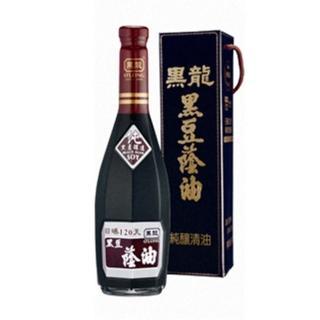 【黑龍】特級黑豆蔭油-純釀清油(600ml)