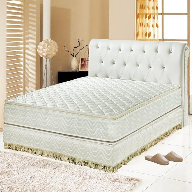 【睡芝寶】正四線矽膠-3M防潑水蜂巢式獨立筒床墊(單人3.5尺)