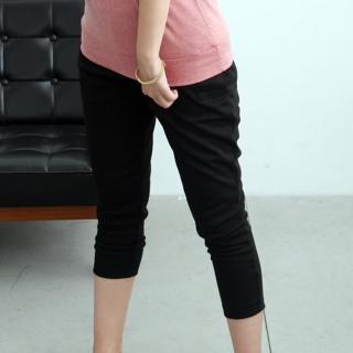 【衣心衣意中大尺碼】百變好搭 -釦子口袋休閒褲(黑-藍SD1A3065)