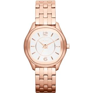 【DKNY】城市漫步都會時尚腕錶(鋼帶-玫瑰金 NY8807)