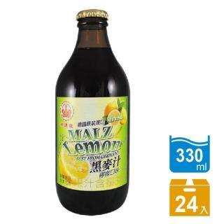 【崇德發】檸檬黑麥汁(330mlx24瓶)