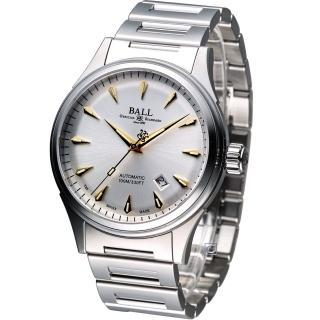 【波爾錶 BALL】Firman Racer Classic 經典機械腕錶(NM2288C-SJ-SL)