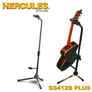 【Hercules 海克力斯】背靠式吉他立架 公司貨(GS412B)