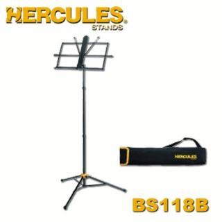 【Hercules海克力斯】三段式譜架 公司貨(BS118BB)