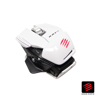 【MAD CATZ】R.A.T. M 白色無線藍芽電競滑鼠