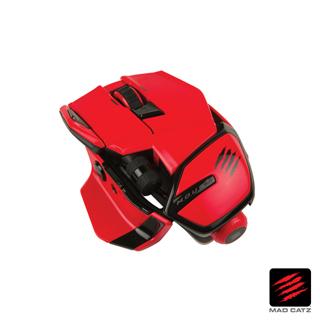 【MAD CATZ】M.O.U.S. 9 紅色無線藍芽電競滑鼠