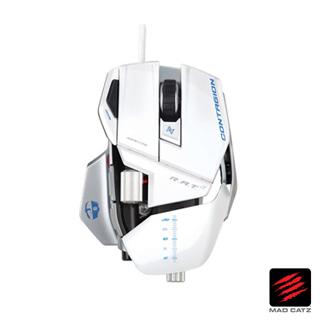 【MAD CATZ】R.A.T. 7 Contagion白色雙眼電射滑鼠