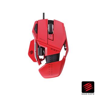【MAD CATZ】R.A.T. 5 紅色電競雙眼雷射滑鼠